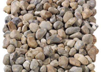 Rounded Flint Pebbles Dry