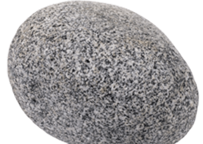 Silver Grey Granite Cobble Wet