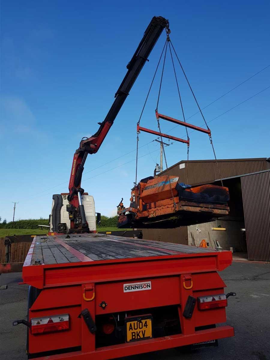 CP&A Supplies Lorry