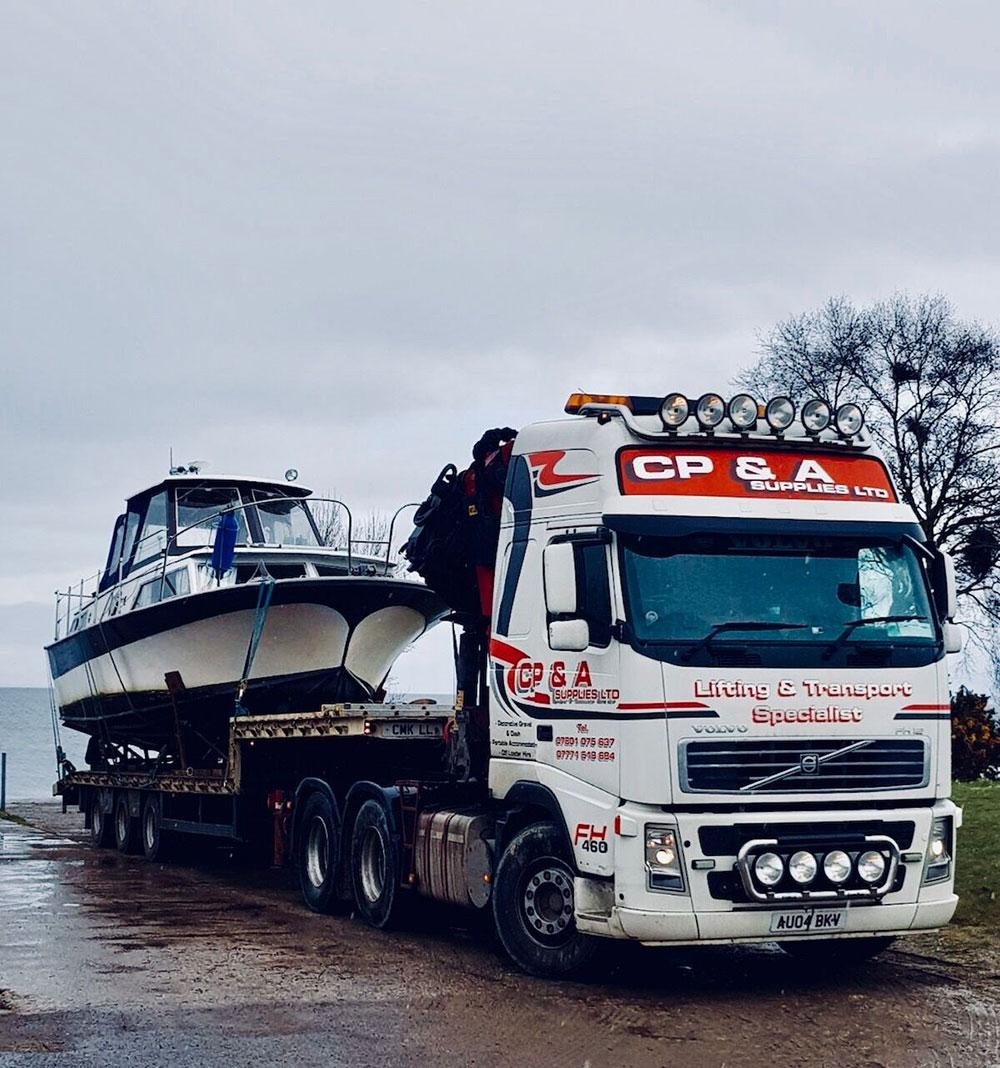 CP&A Lorry